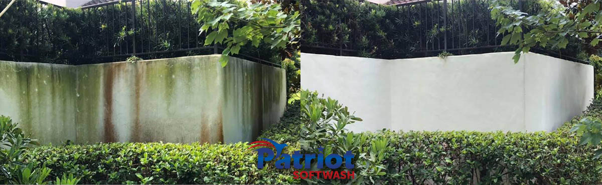 Concrete Wall - Patriot SoftWash