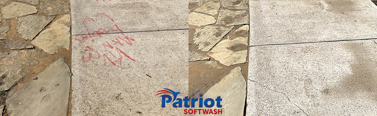 Graffiti - Patriot SoftWash