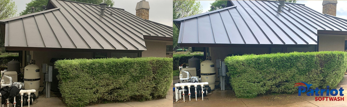 Colleyville Metal Roof - Patriot Softwash
