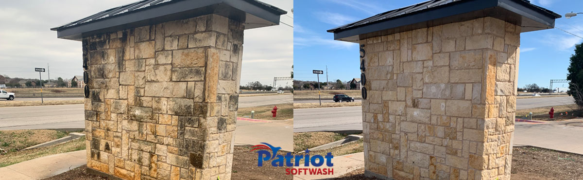 Patriot Softwash Marque Sign