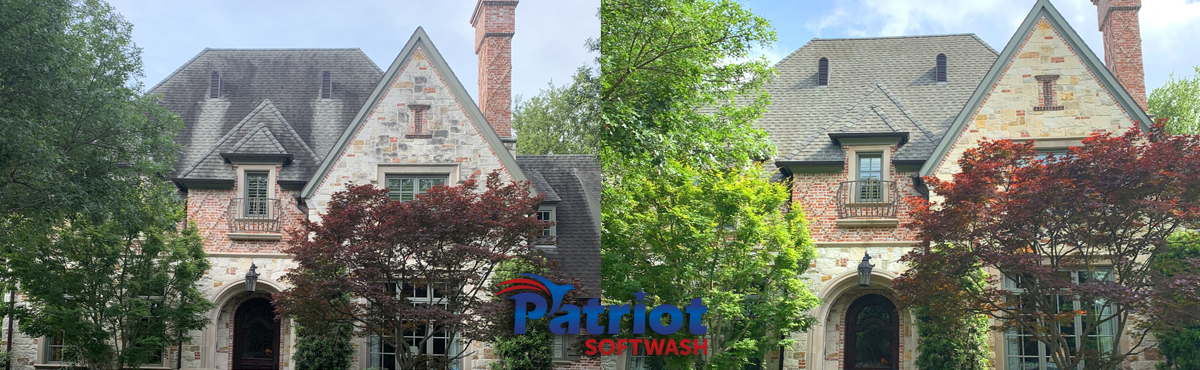 Preston Hollow Roof - Patriot SoftWash