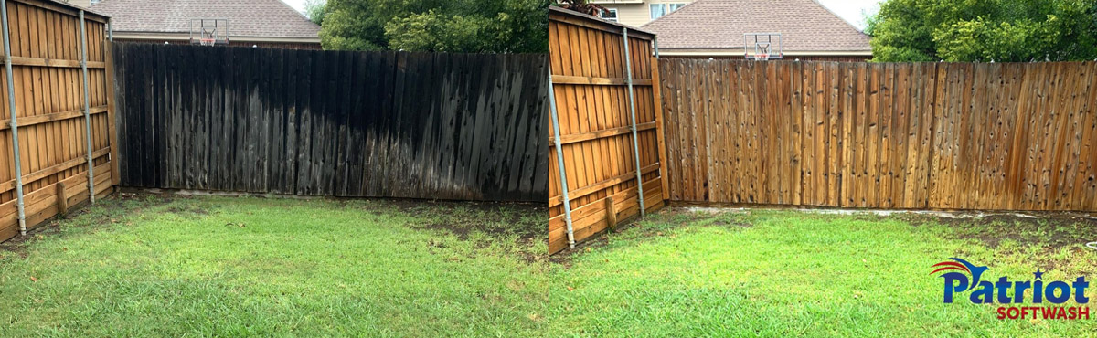 Wooden Fence Wash - Patriot SoftWash