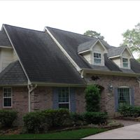 Asphalt Shingle Roof with Dormers Before - Patriot SoftWash