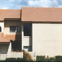 Clay Tile Roof - 2-Story Multi-Unit (side) After - Patriot SoftWash