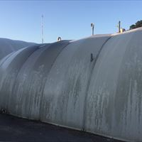 Fiberglass Structure Before - Patriot SoftWash