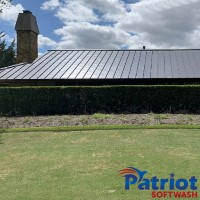 Metal Roof Colleyville After - Patriot SoftWash
