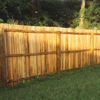 Natural Wood Fencing After - Patriot SoftWash
