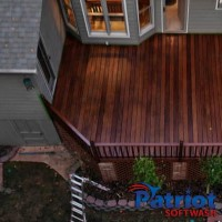 Patio Deck After - Patriot SoftWash