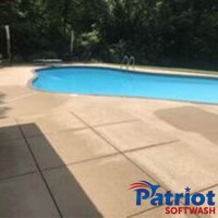 Pool Deck After - Patriot SoftWash
