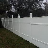 Vinyl Fencing After - Patriot SoftWash