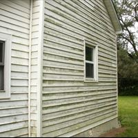 Vinyl Siding (Mold Removal) Before - Patriot SoftWash